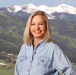 Angel Fire real estate agent Janet Shuey